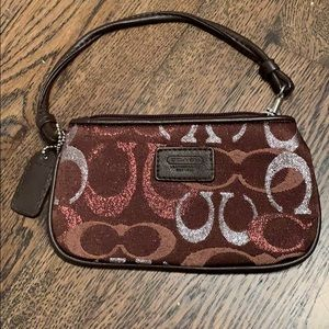Coach wristlet (worn once)